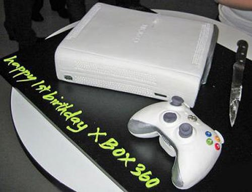 Google Image Result For Httpthepastrychannelcomimages - Video game birthday cake