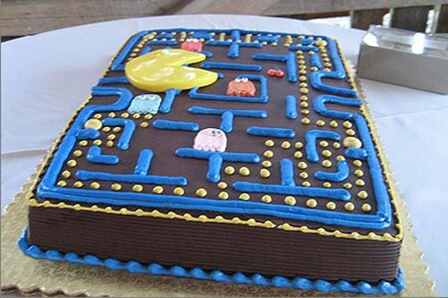 15 amazing video game cakes cont the pastry channel for Amazing wedding cake decoration game