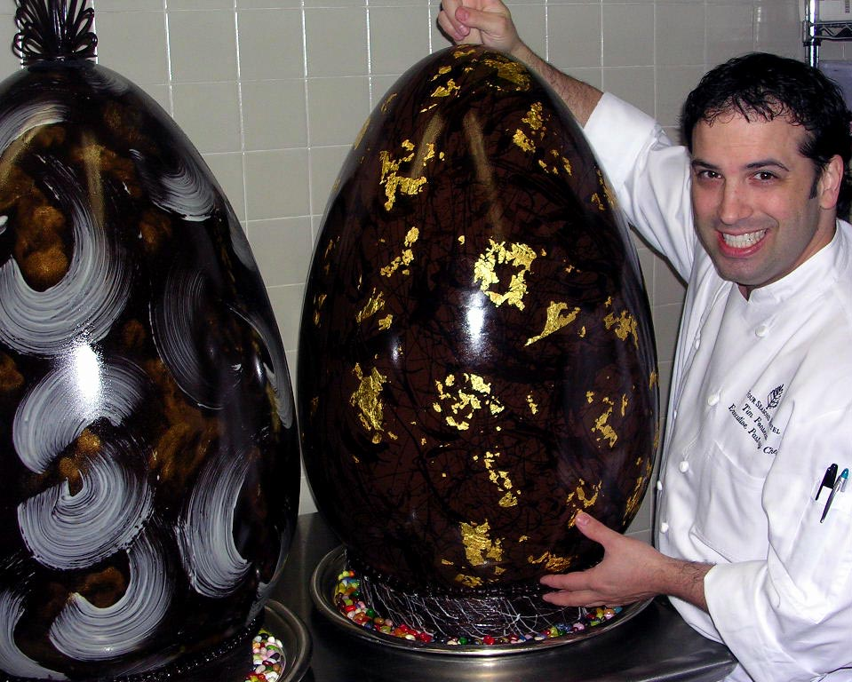 Giant Chocolate Eggs